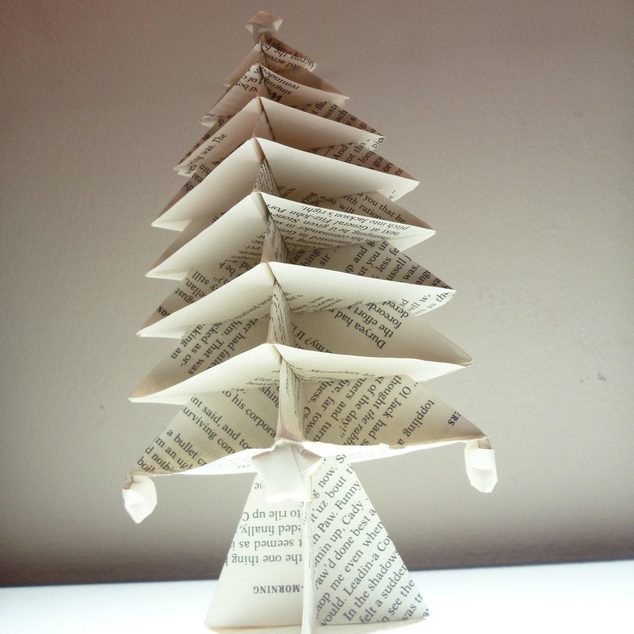Christmas origami oragami book origami christmas tree with origami