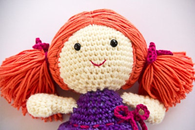 Free Crochet Amigurumi Doll Pattern (A Basic Crochet Doll
