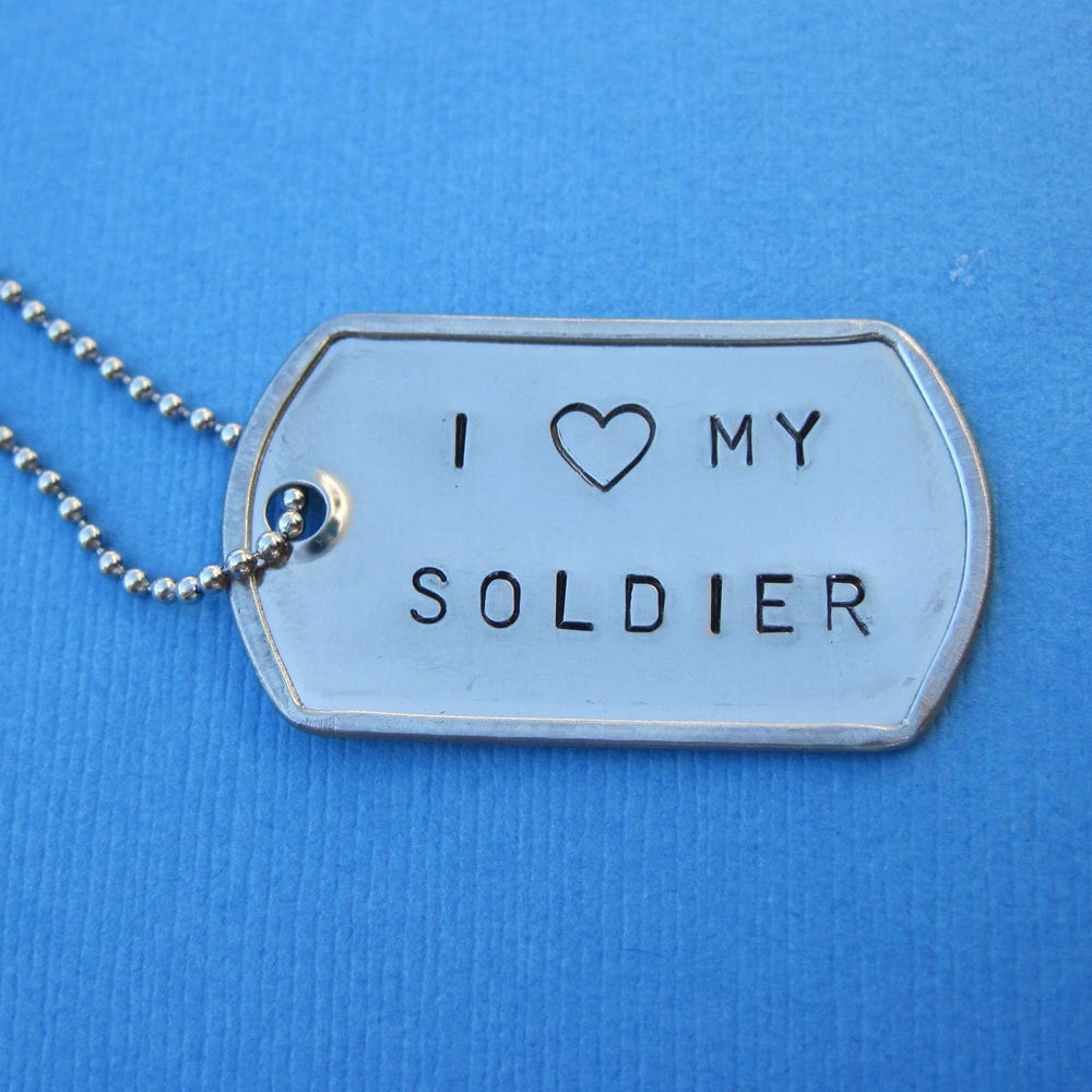 Famous Personalized Military Dog Tags