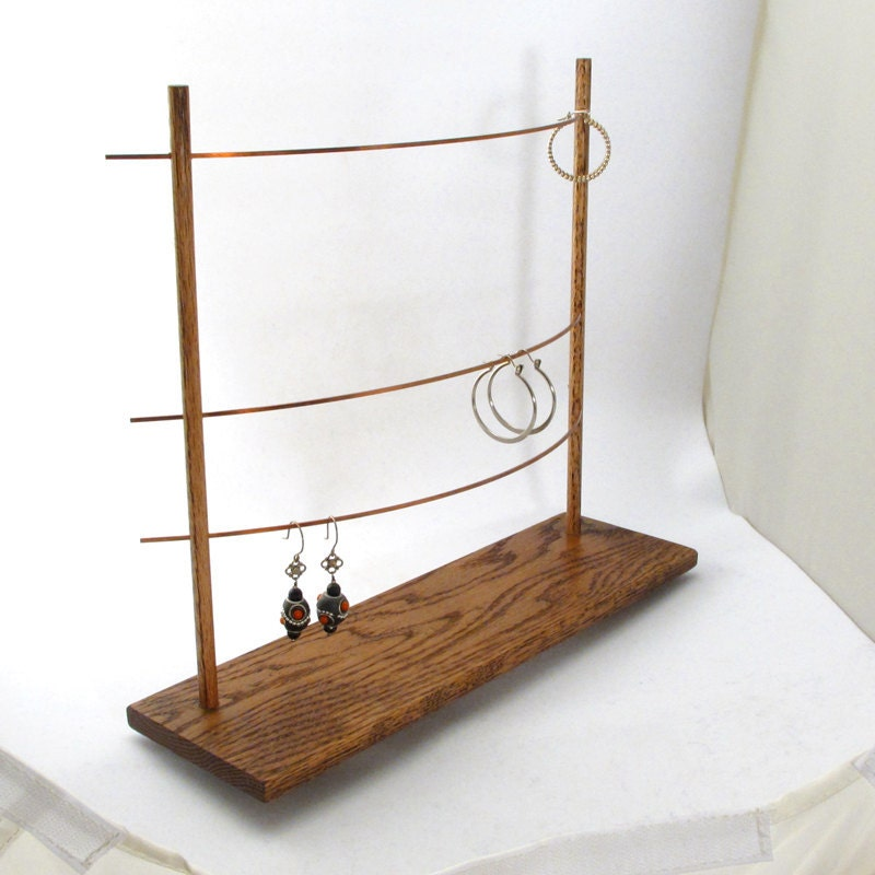 the bar earring display holder jewelry by