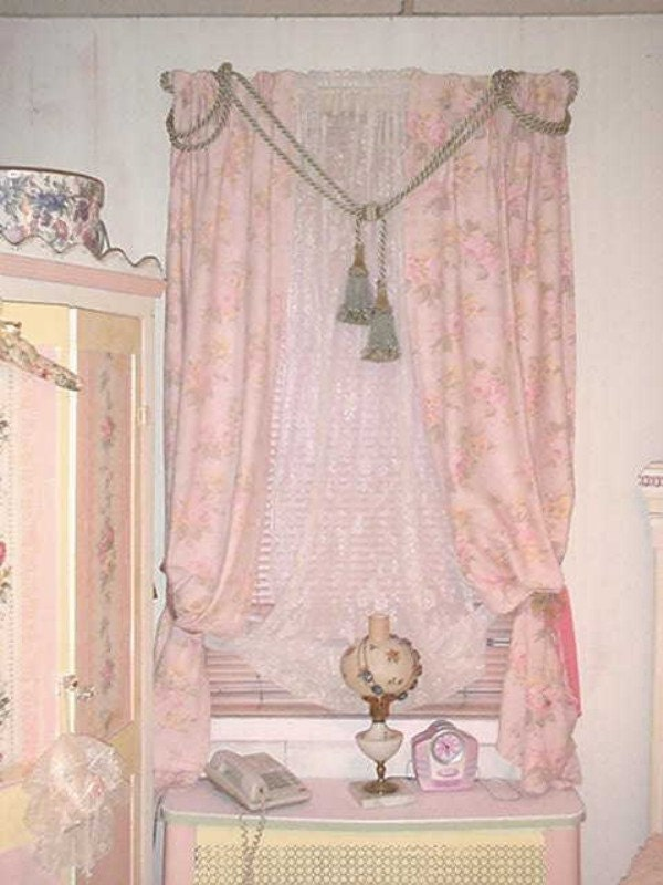 Pink sparkle curtain panel in Curtains & Drapes - Compare Prices