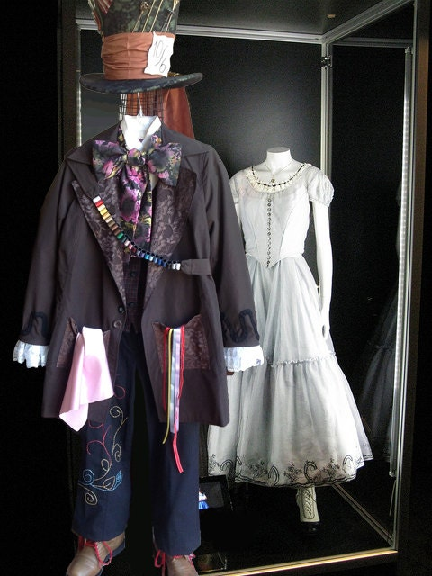 Items similar to Tim Burton's Mad Hatter Complete Costume ...  Mad