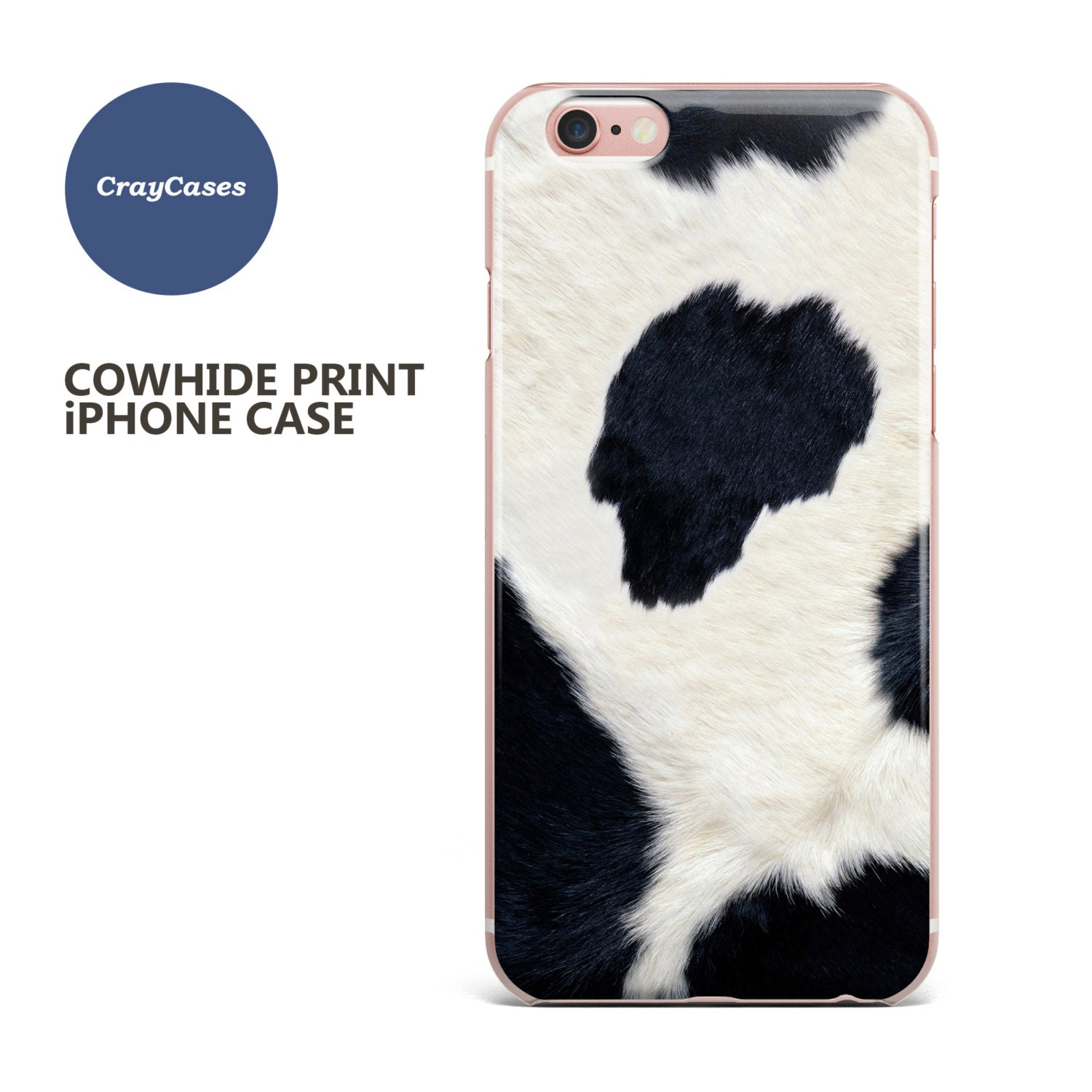 Cowhide iPhone 6s Case Cowhide iPhone 6s Plus Case Cowhide iPhone 7 Case Cowhide iPhone 6 Plus Case (Shipped From UK)