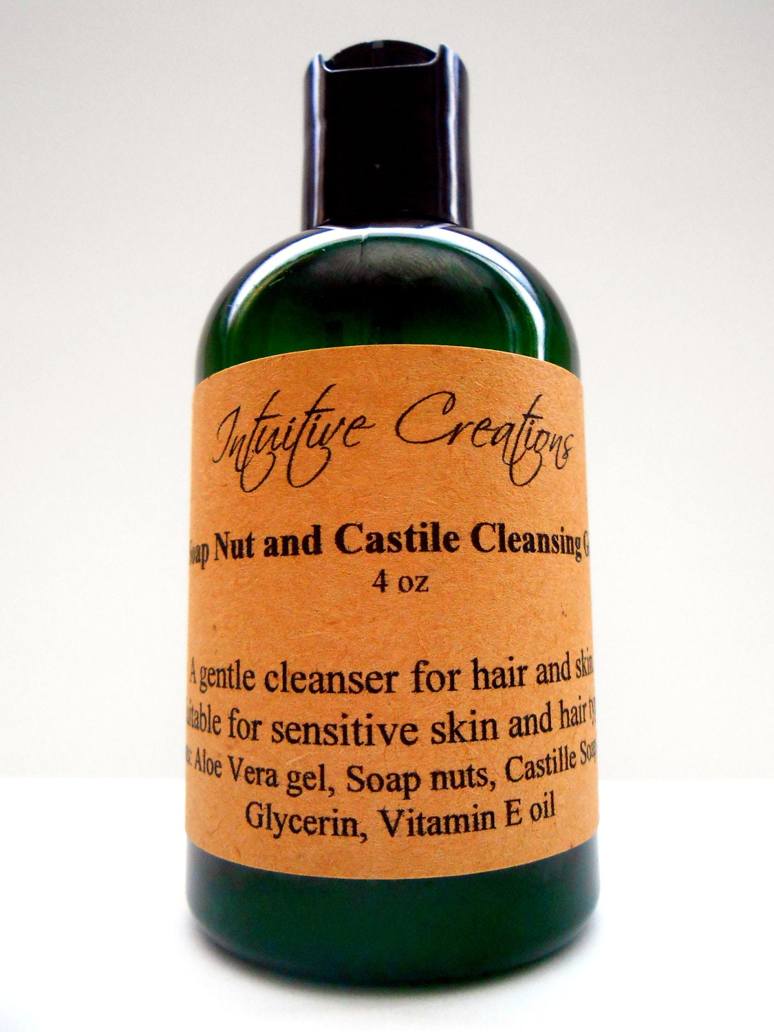 Soap Nut and Castile Cleansing Gel