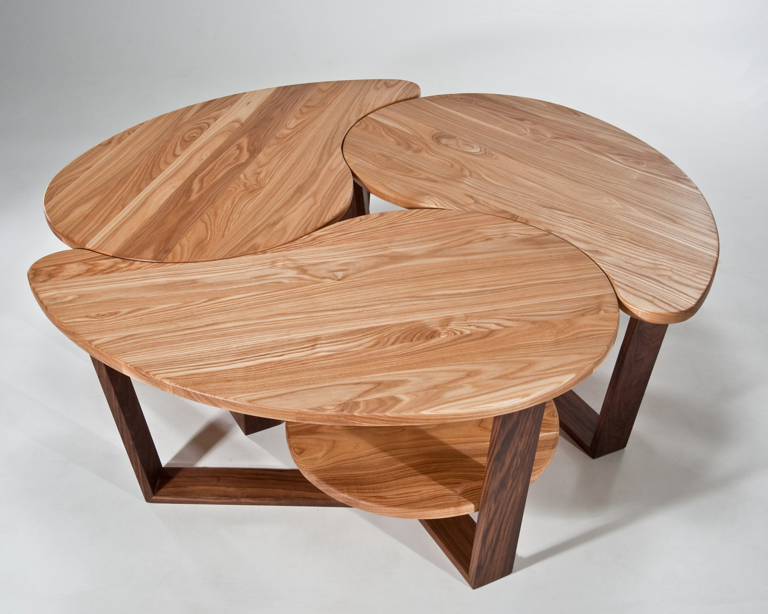 3 Ying Yang Yong Coffee Occasional Tables By Gcoulsonfurniture