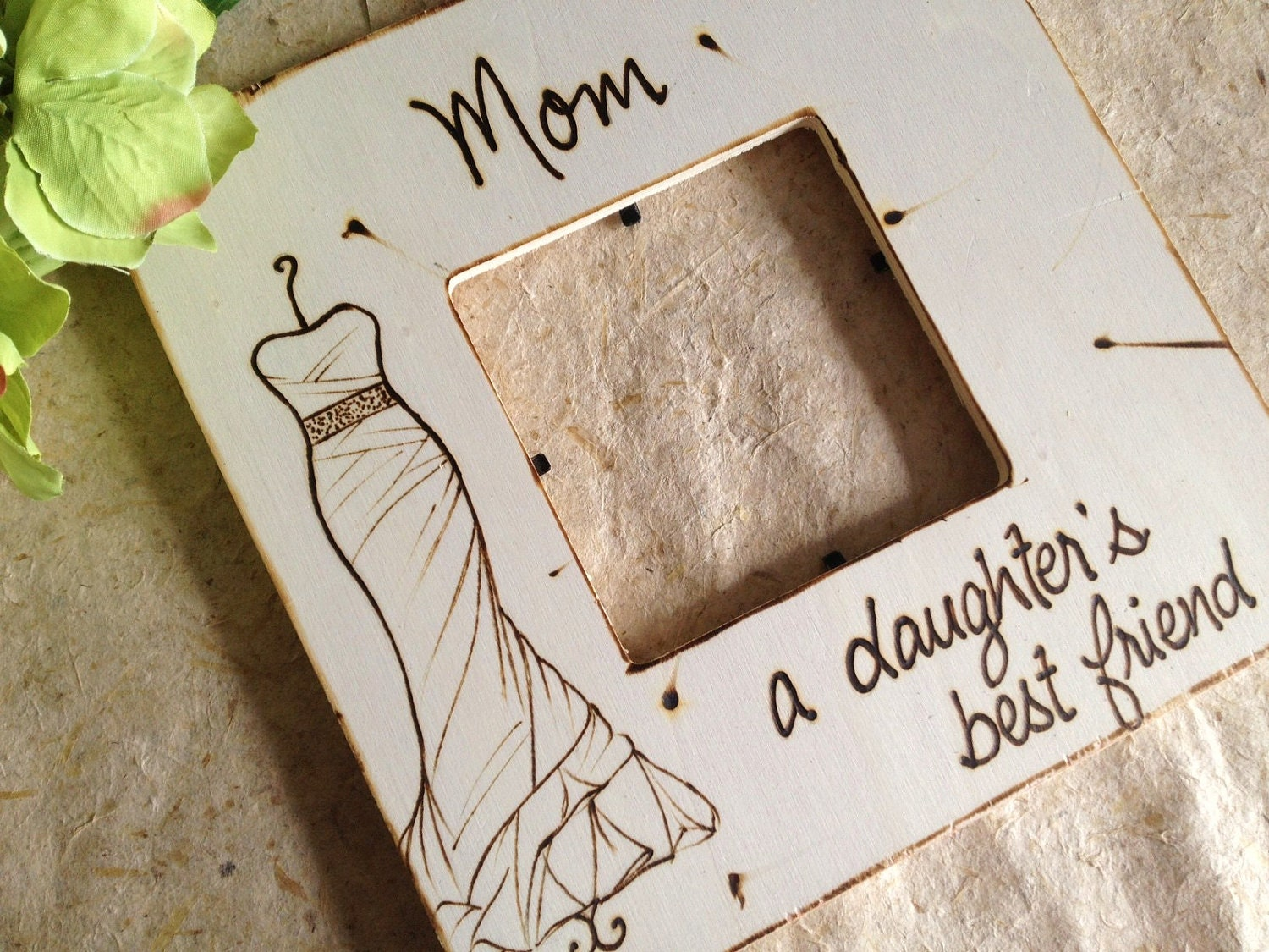 Wedding Gift for Mother Mom a Daughters Best Friend with YOUR Wedding ...