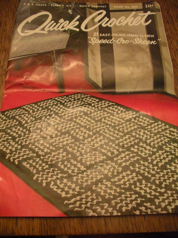 quick crochet pattern
