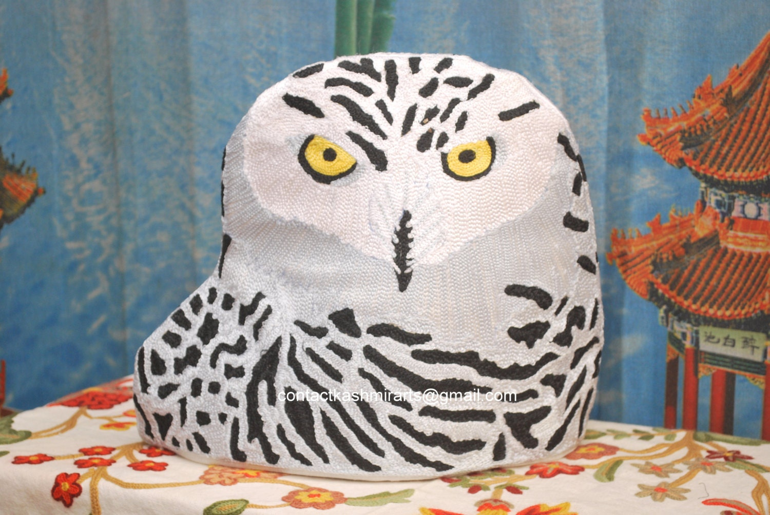 Easter Owl Tea Cozy/Owl Teapot Cosy/Owl Coffee Pot Cozy/owl teapot cover/owl teapot cosy/Bird Tea Cosy/French Press Coffee/Barn Owl/baby owl - Pamposh