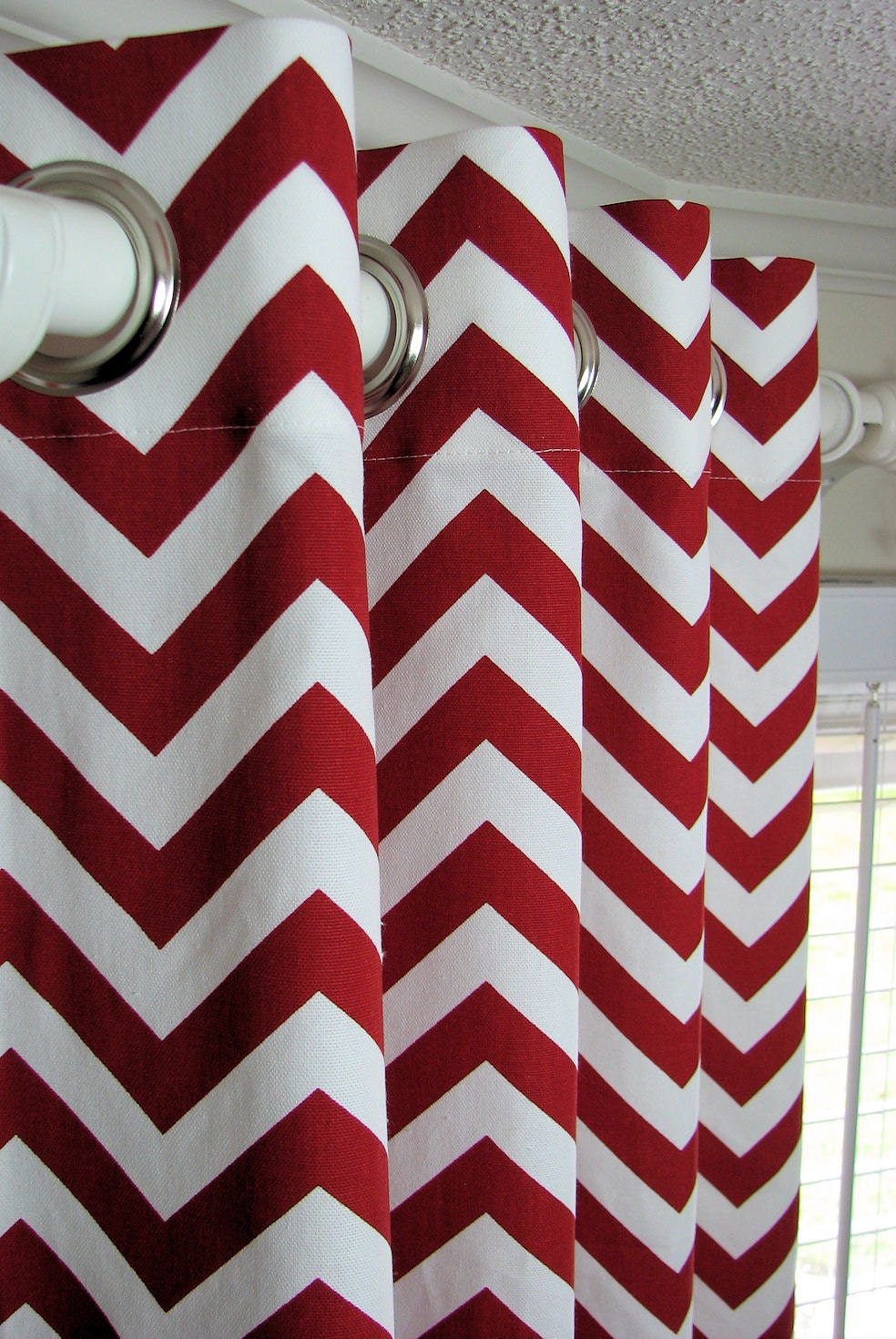 Jc Penny Kitchen Curtains Grey Chevron Curtains