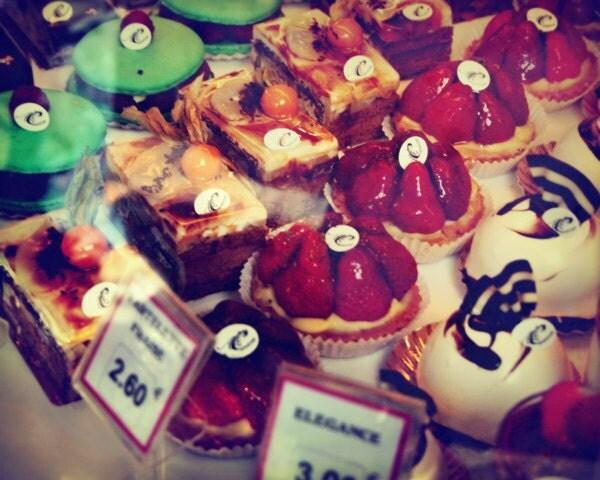 Paris Photo Patisserie 8x10 Print Photography Pastries Kitchen Art