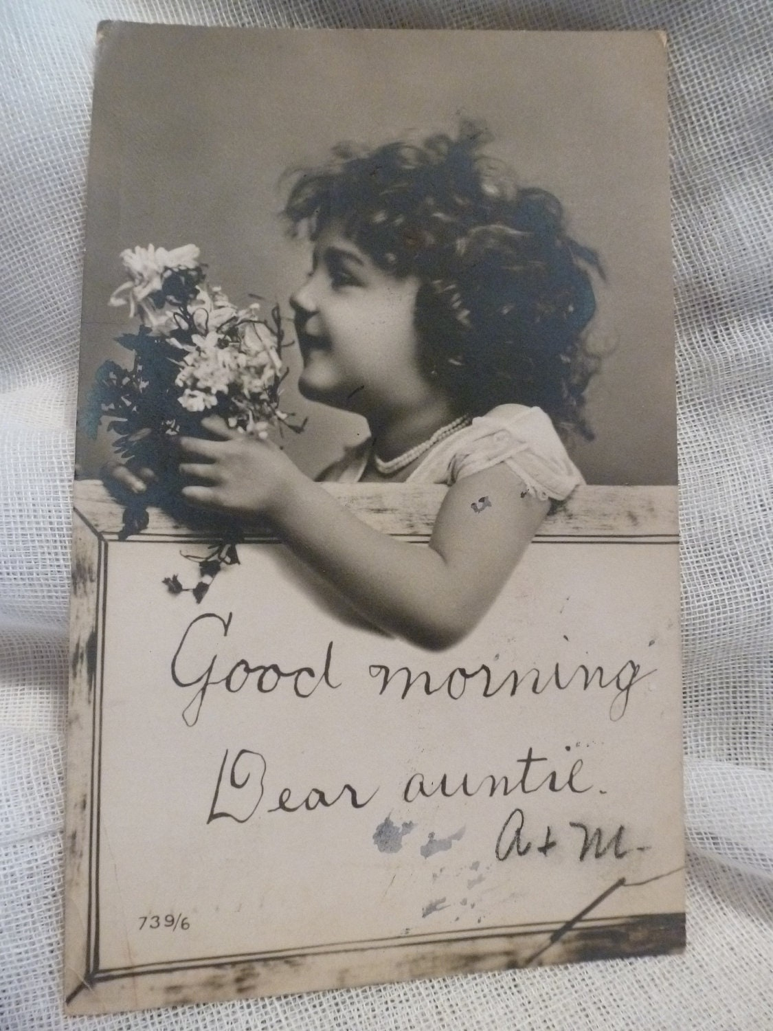 Good Morning Vintage Photos : Good morning dear auntie vintage real photo post by papercreek
