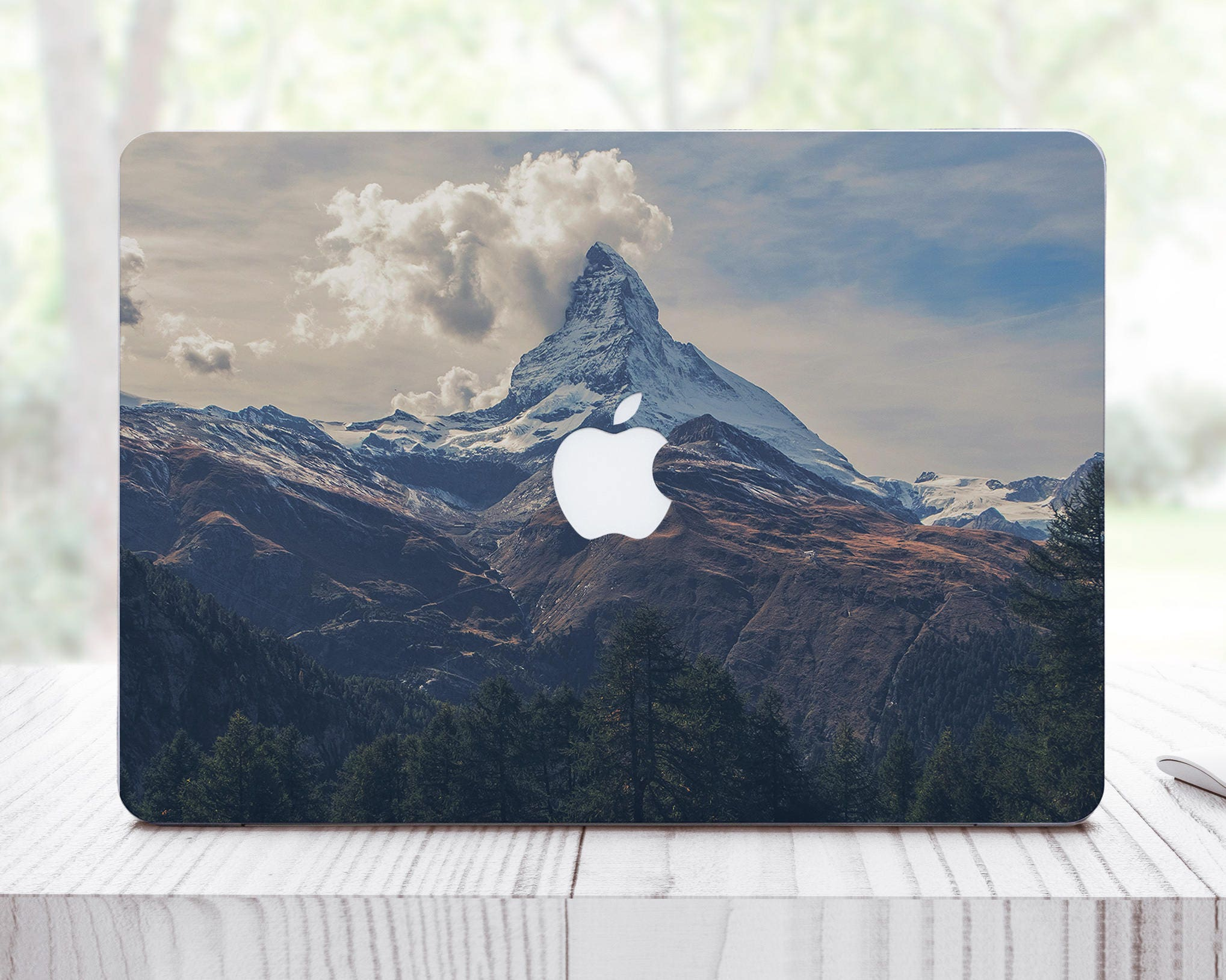 Mountain Decal MacBook Air 13 Inch Skin Pro Retina Decal Laptop Vinyl Decal MacBook 12 Decal MacBook Pro Gray Decal Macbook Air ES0030