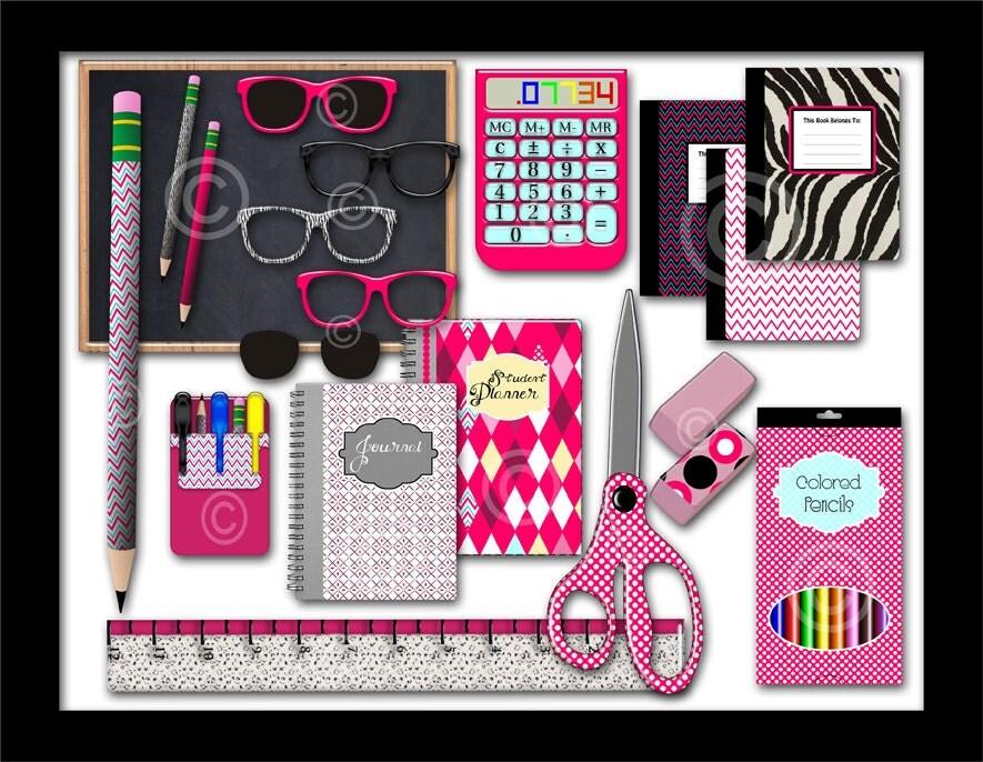Clip Art Free School Supplies School Supplies Clip Art Geek