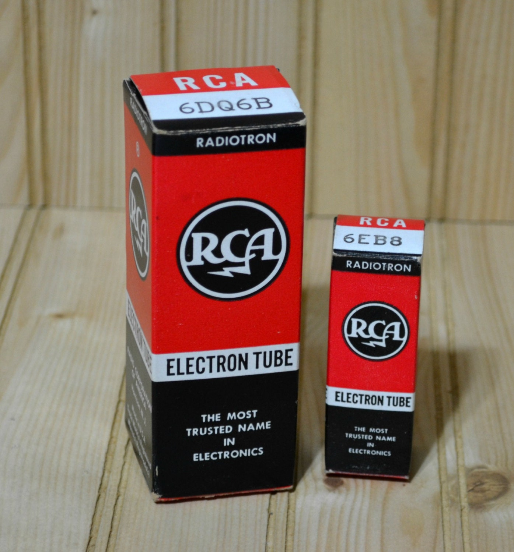Rca radiotron electron tube