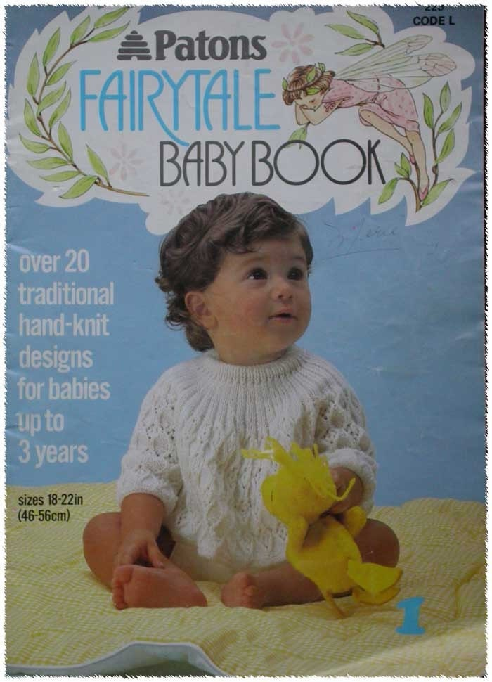 Vintage Patons Baby Knitting Pattern Book by TheHowlingHag on Etsy
