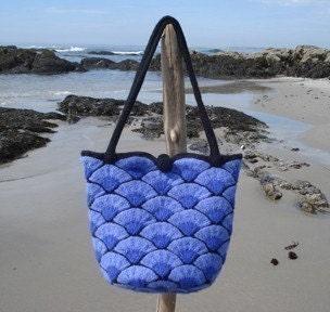 Bar Harbor Shell Bag - knit - knittingdream