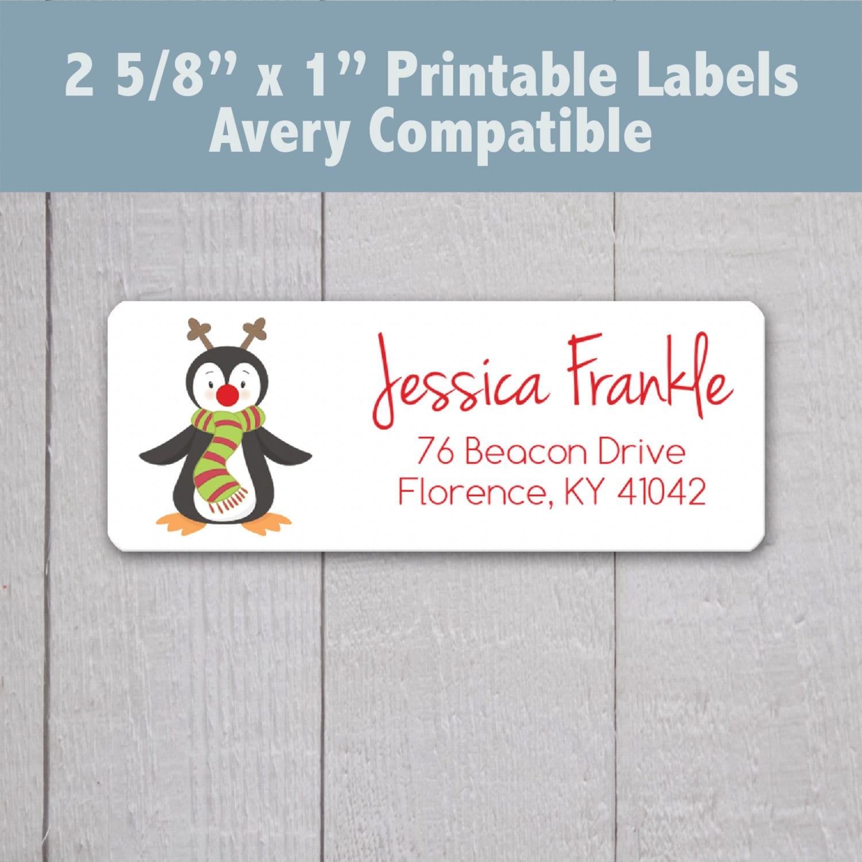 5160 address label template .