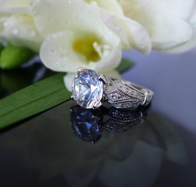 Artisan Natural Moldavite ampamp Herkimer Diamond Pendant