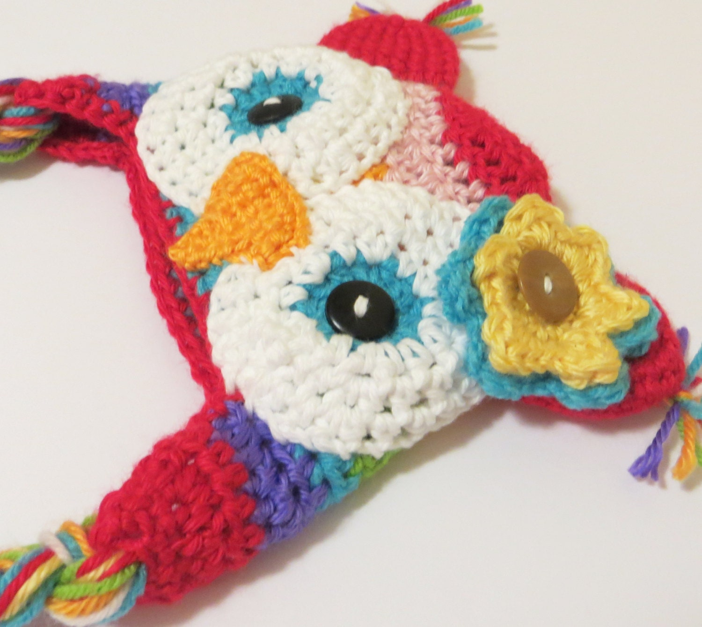 Crochet Pattern For Newborn Newsboy Hat : Crochet Owl Hat Pattern newborn by TheStrumpetsTentacle on ...