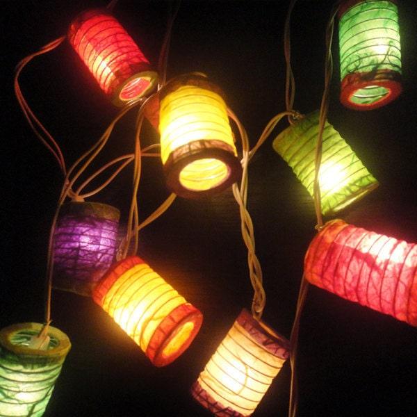 2035 Japanese Asian Zen Multi Color Lantern Fairy by marwincraft