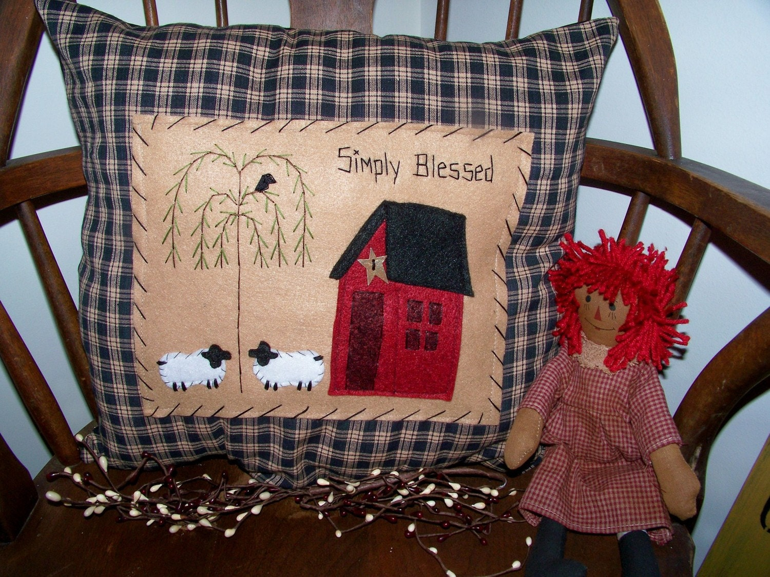 Country Craft House Toss Pillows