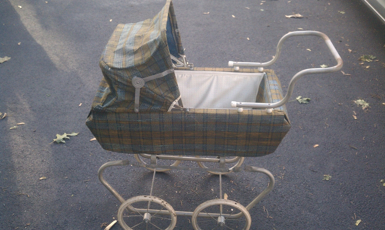 Vintage Pram Baby Doll Stroller Carriage 1960 S Or By Elysesfinds