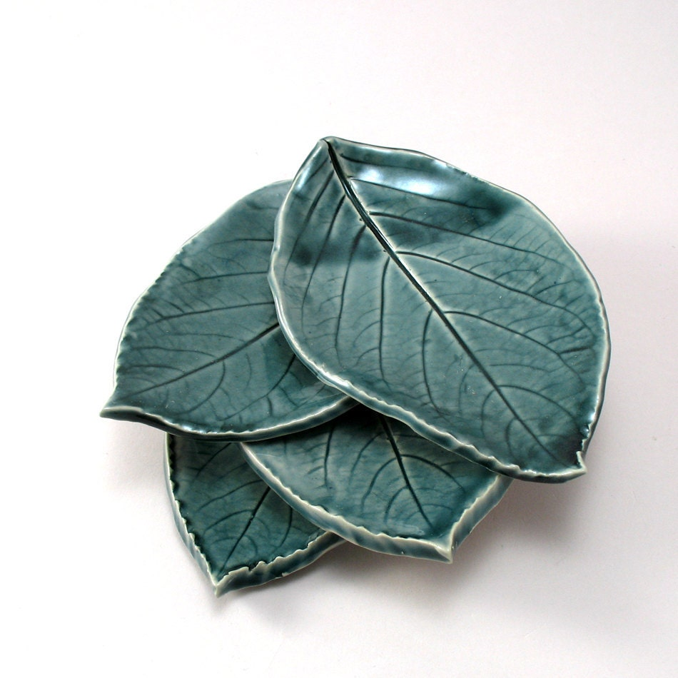 Little Leaf Plates, set of 4