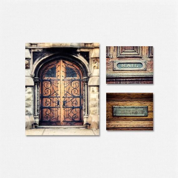 Foyer Door Decor : Rustic door decor foyer by lisarussofineart