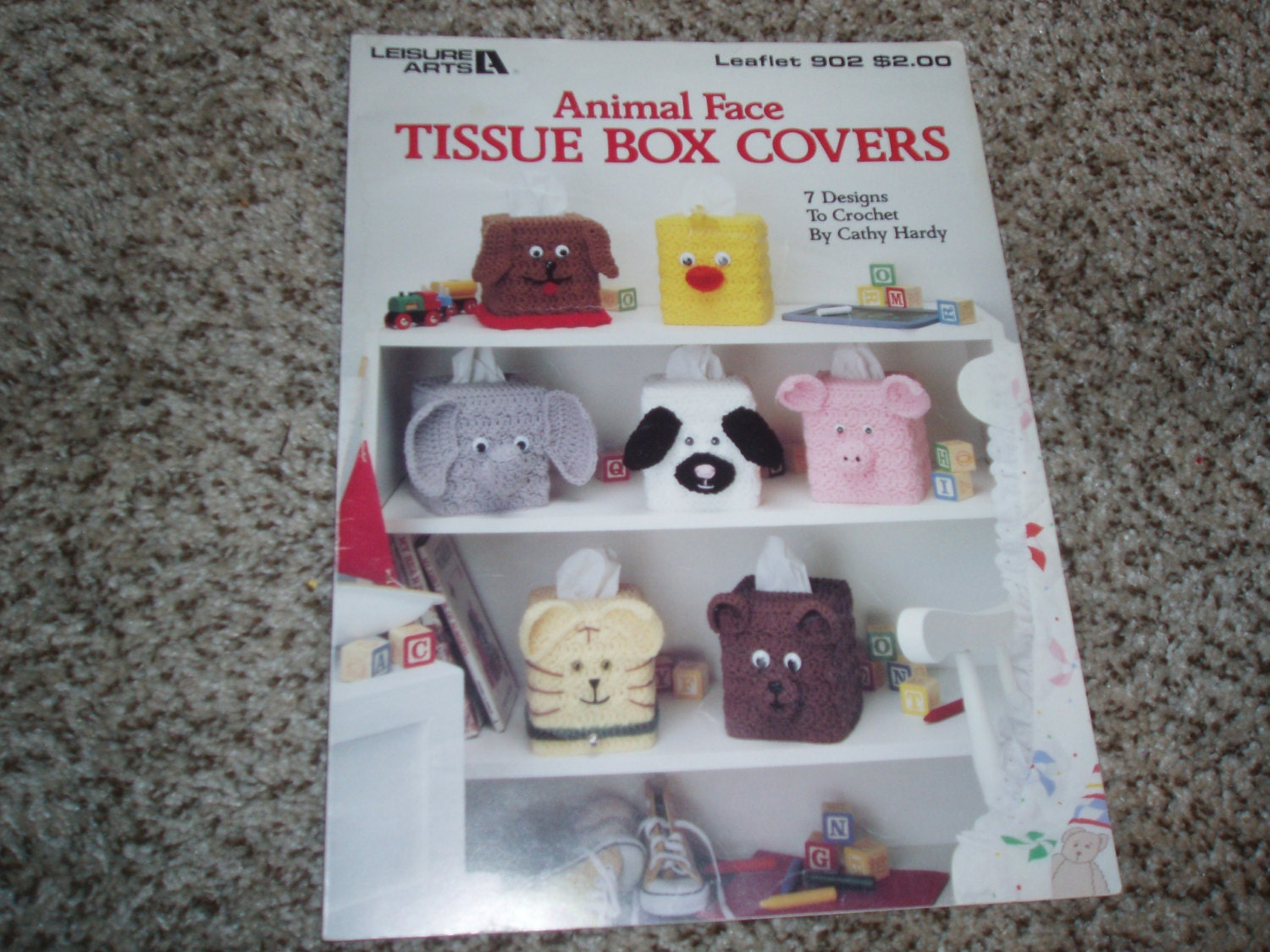animal face tissue box covers crochet patterns by mommamacs. Black Bedroom Furniture Sets. Home Design Ideas