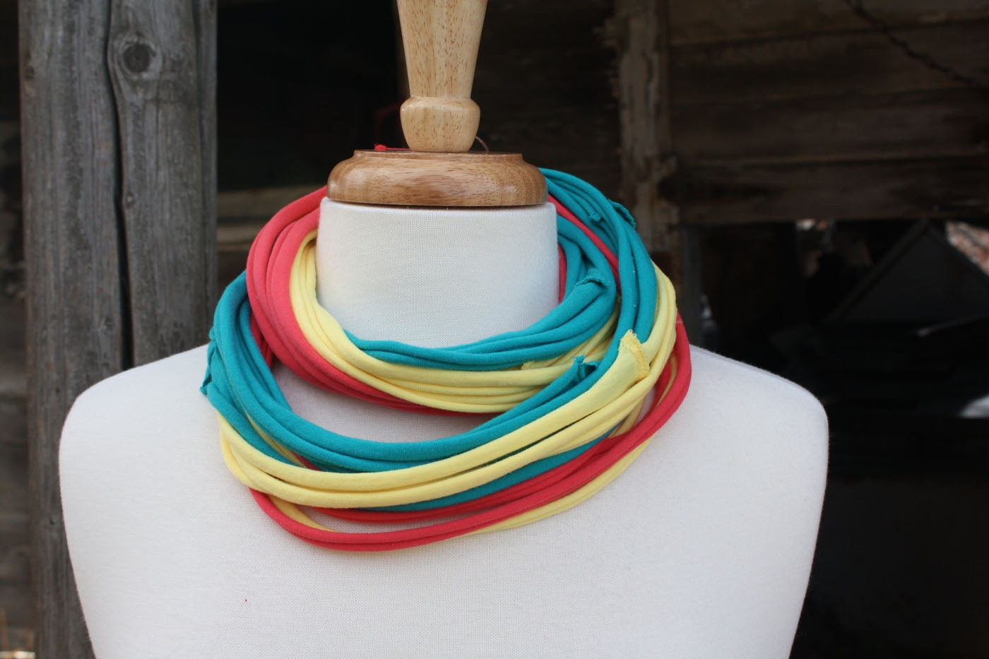 Candy Mix Jersey Scarf