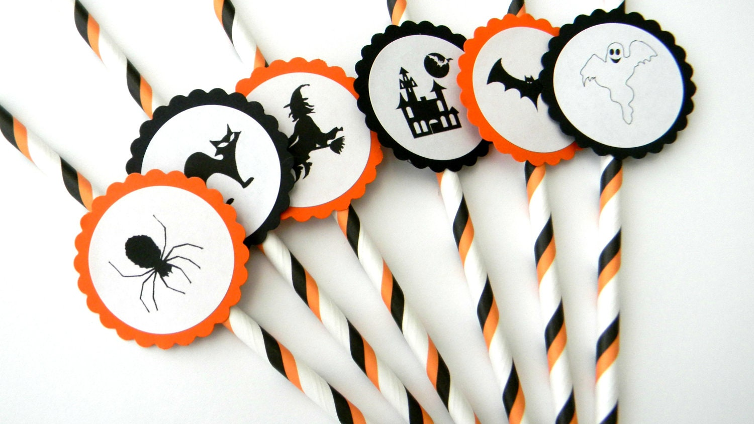Halloween Party Straws - Limited Time