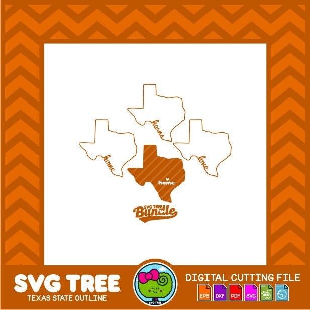 Extraordinary texas outline vector pictures