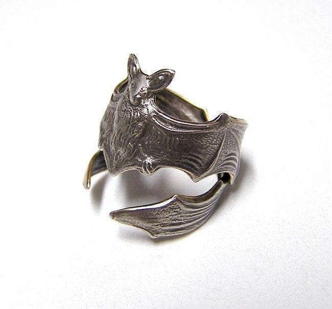 Etsy Bat Ring