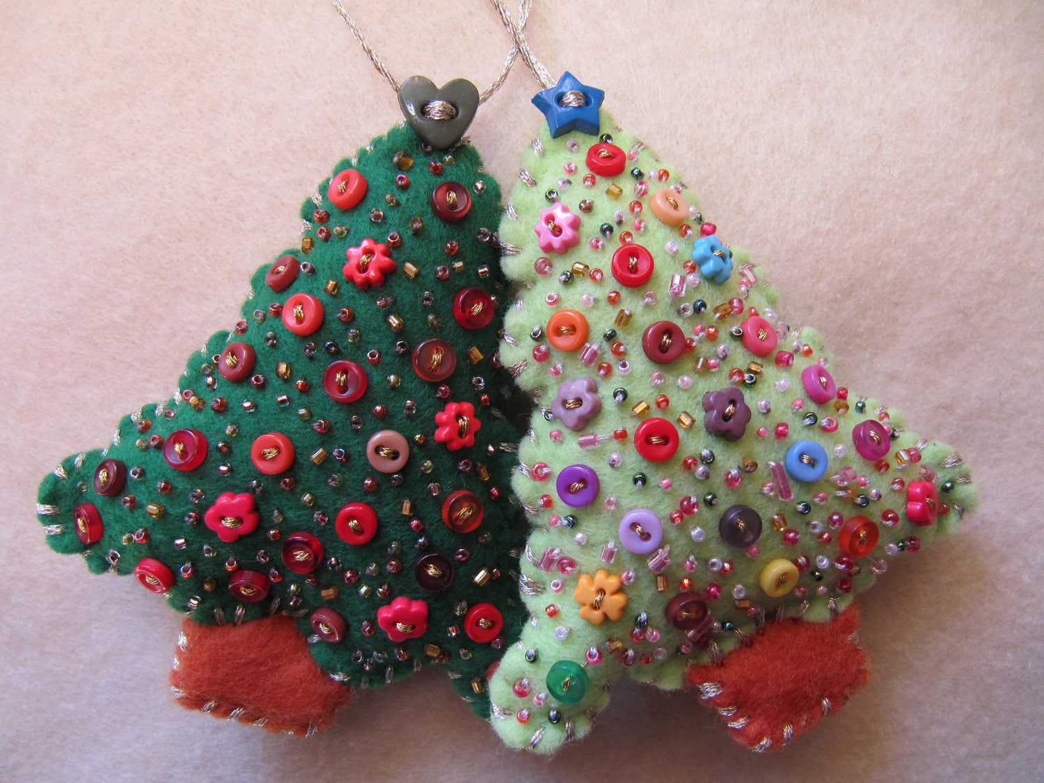 styles of beaded christmas ornaments where to buy ornaments and make ...