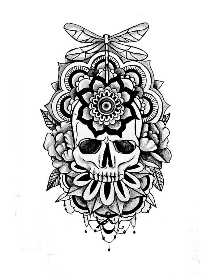 Tattoo designs for men on paper