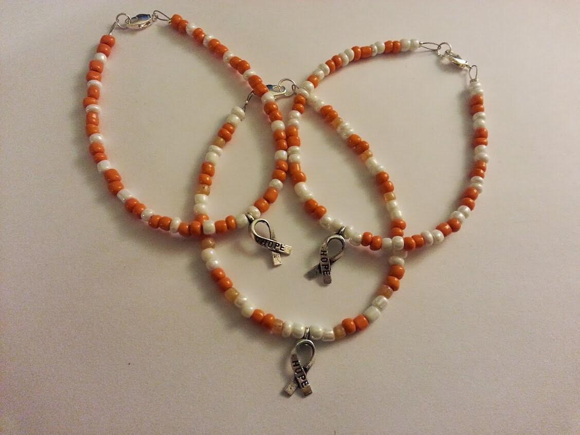 items similar to leukemia awareness bracelet on etsy