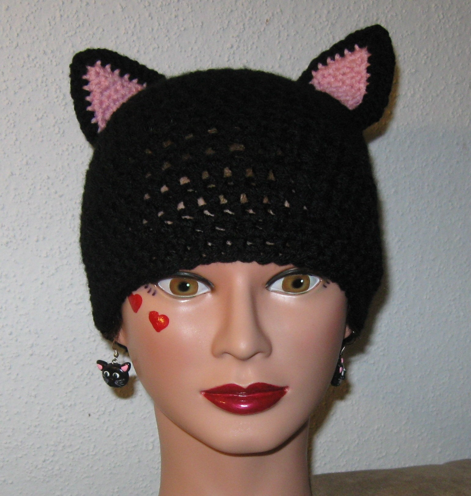 Crochet Turkey Cat Hat Pattern : Crochet Cat Hats