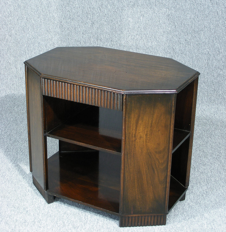 Table  Original Mahogany Art Deco Book Table Coffee Table Vintage table