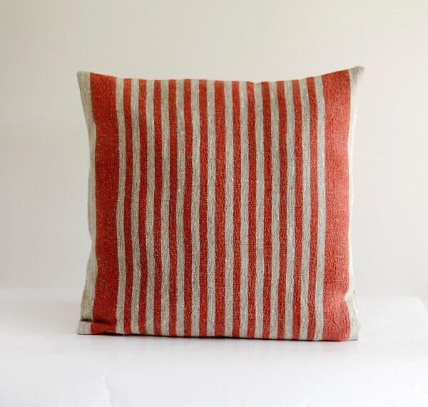 Throw Pillow Covers Farmhouse : French farmhouse decor pillow cover ? throw pillows ? cushion case ? red throws ? 16?16 ...