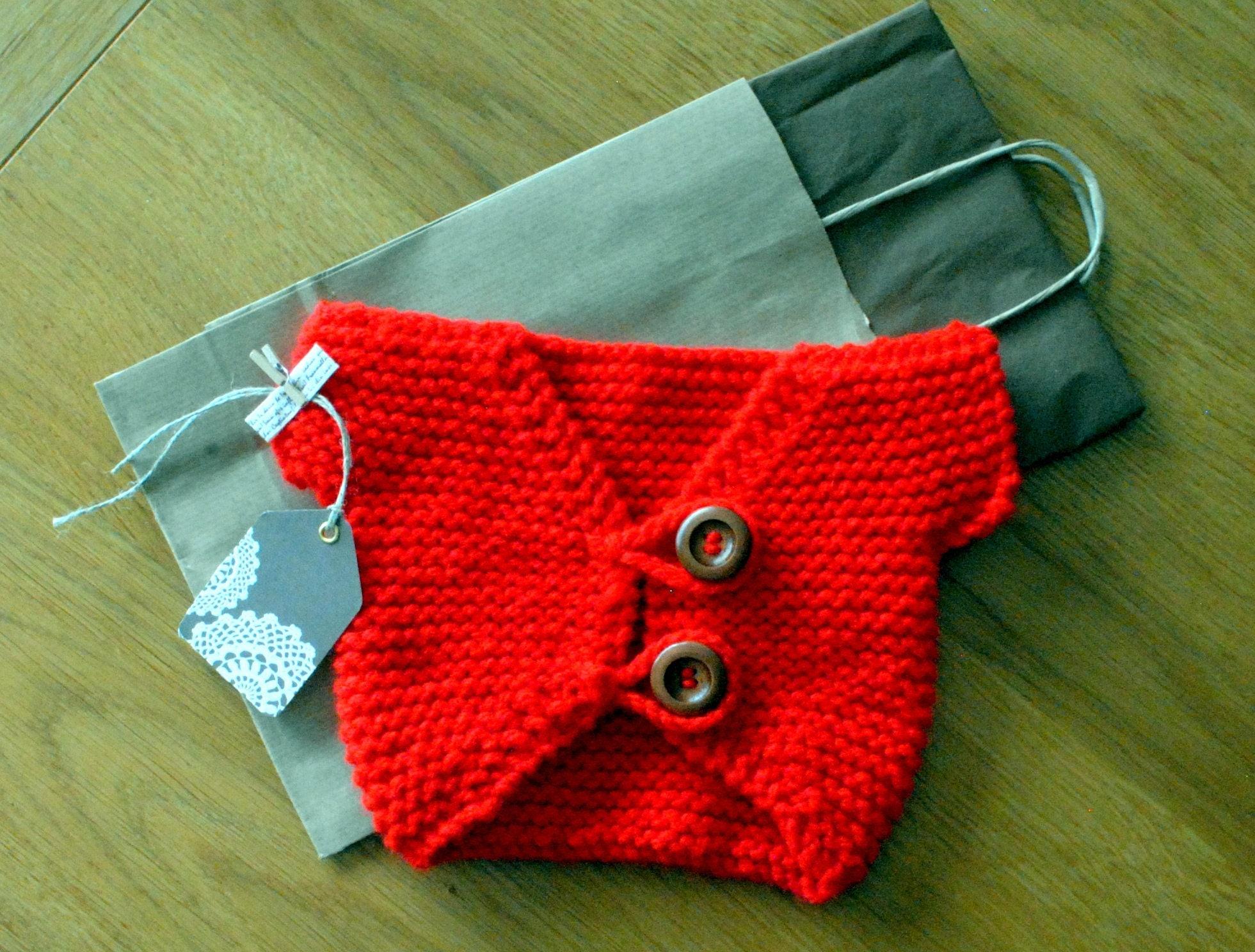 Baby Gift Knitted Baby Clothes Handmade Chunky Knit Cardigan Jacket Red Boho Baby Shrug Bolero Newborn Baby Shower Homecoming Gift