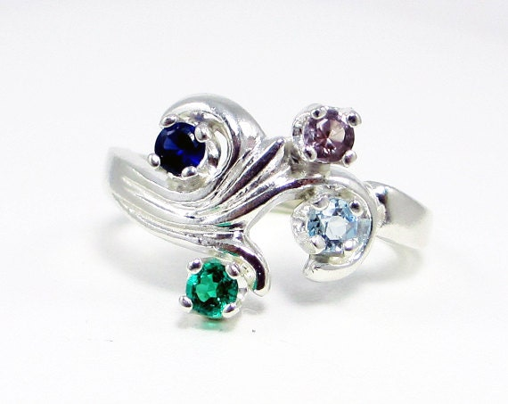 emerald sapphire alexandrite and aquamarine mothers by