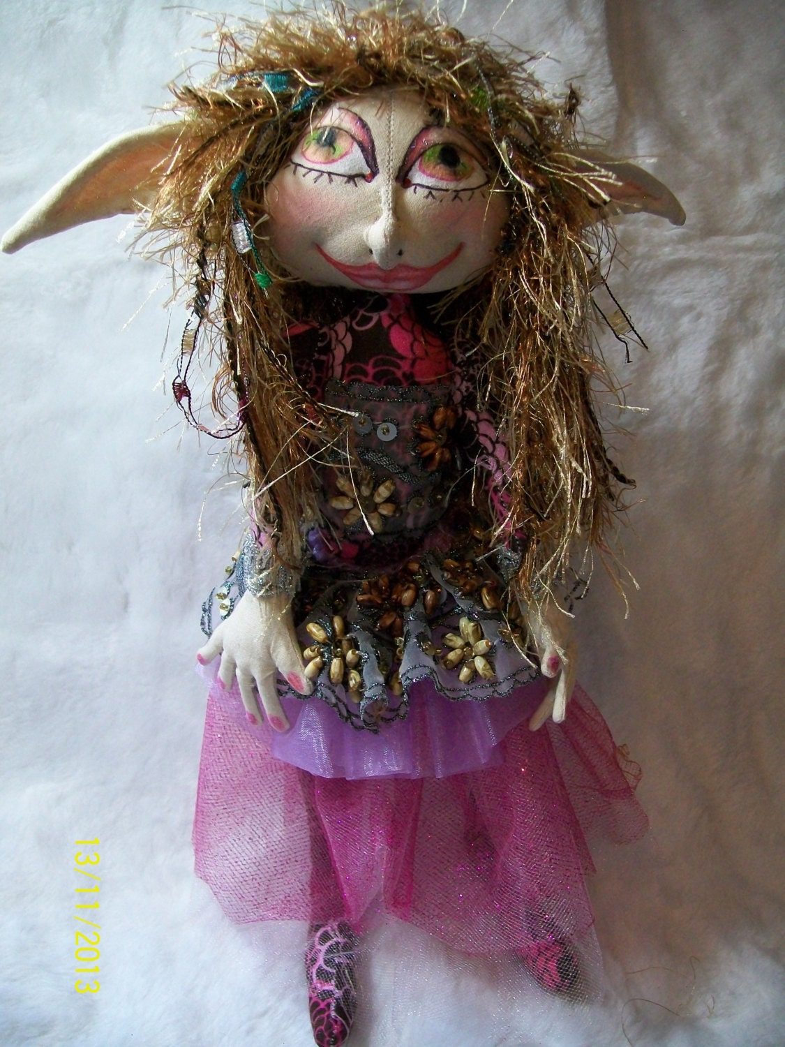 "Shaylynn The  13""  Pixie Art Doll - CreativeDollsandsuch"