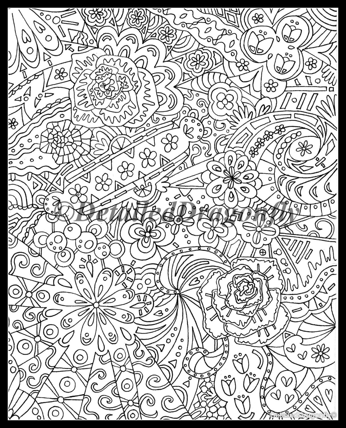 collage coloring pages - items similar to creative designs collection coloring