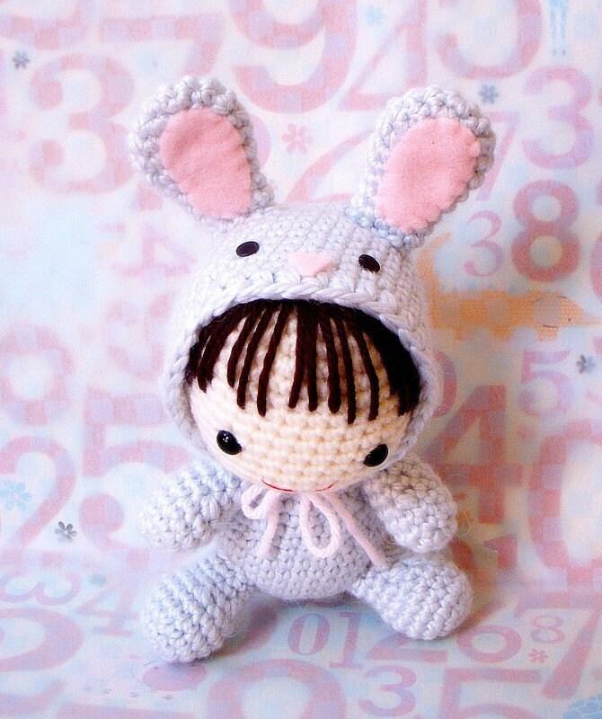 Amigurumi Pig Rabbit : Dolls to Crochet on Pinterest Crochet Dolls, Amigurumi ...