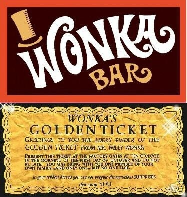 Willy Wonka Golden Ticket Invitation Template were Elegant Ideas To Make Perfect Invitation Design