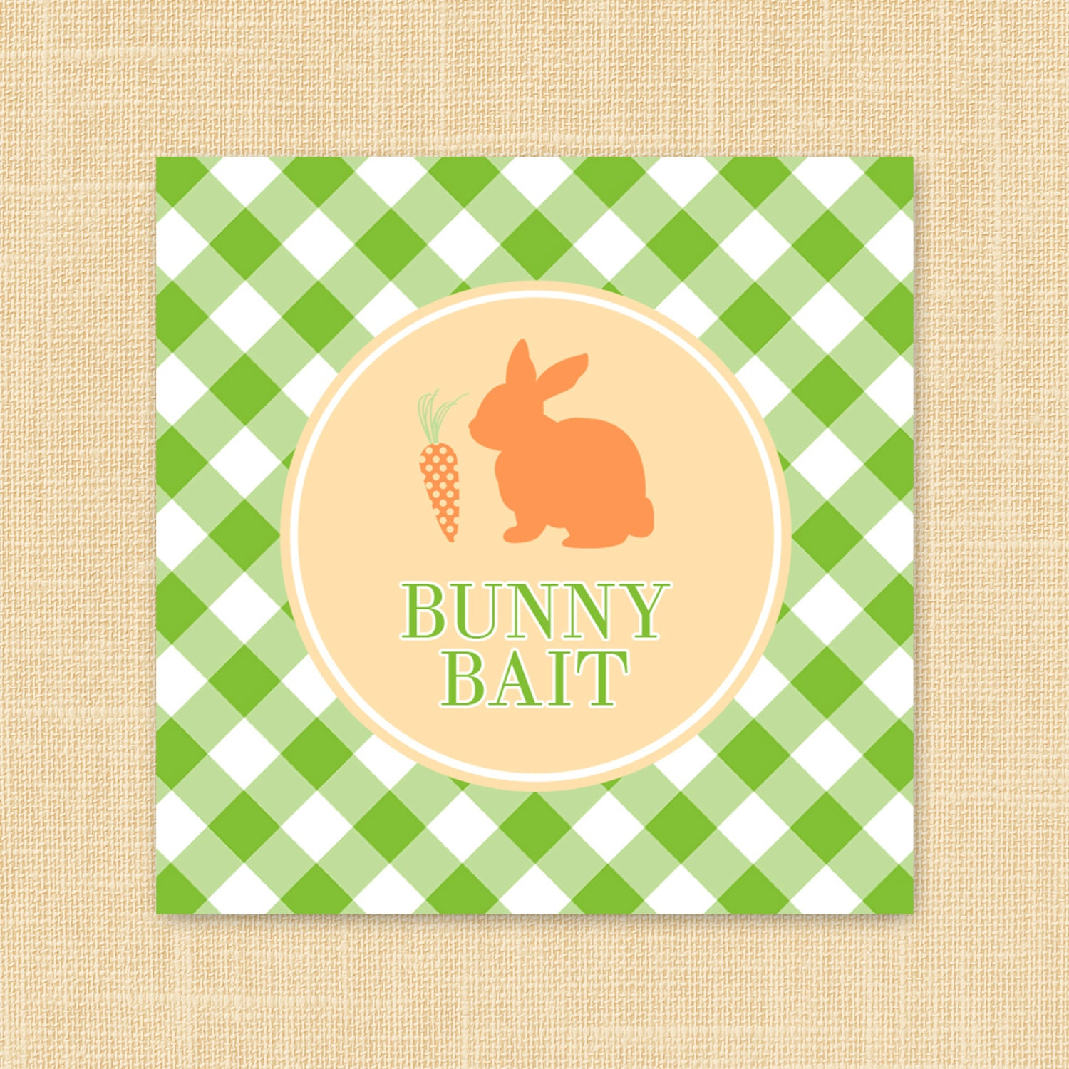 Gorgeous image for bunny bait printable