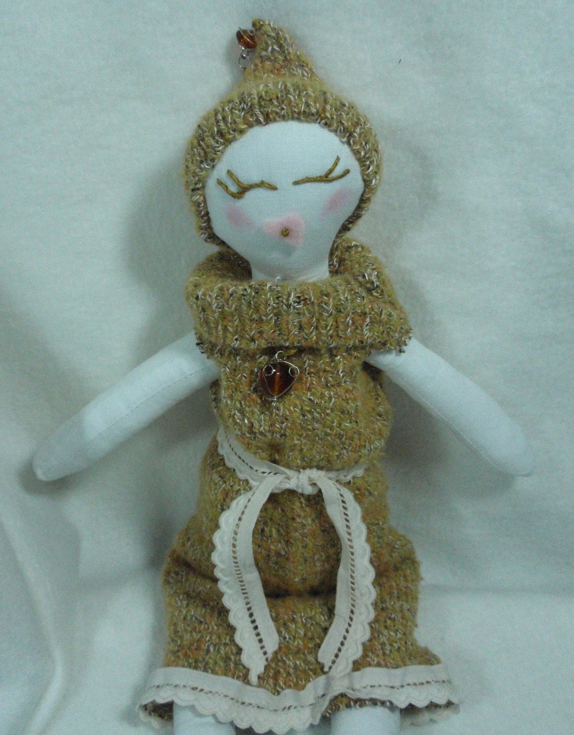 Glorious Gloria Handmade Rag Doll