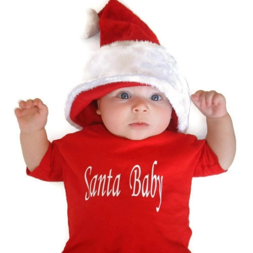 Santa Baby Christmas shirt, red, vinyl - classicchoices