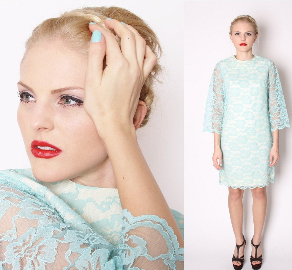 Entcing a line v neckline chapel train lace wedding blue dress