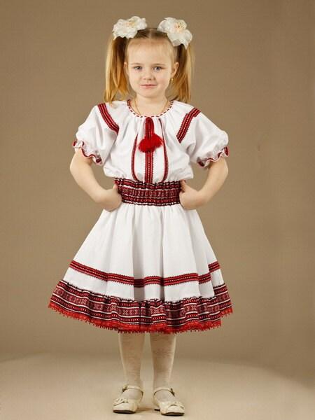 Ukrainian children s dress embroidery for by ukrshop